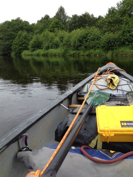Open Canoeing River Spey
