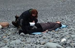 First Aid On the Beach