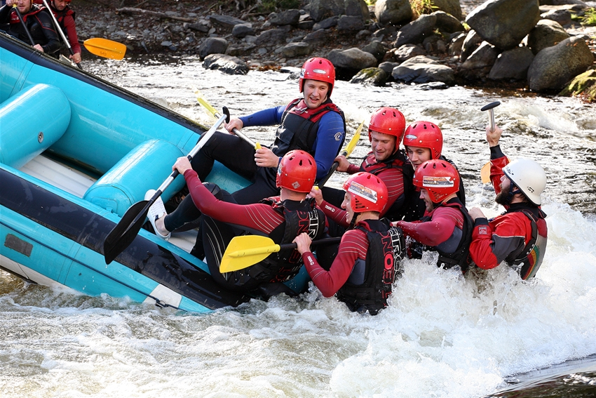 Stag Party Whitewater Rafting