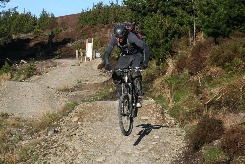 Mountain Biking Llangollen Uk