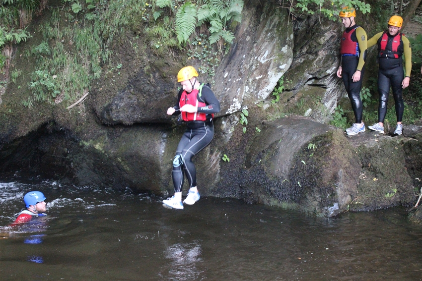 Gorge Walking in Llangollen special offer
