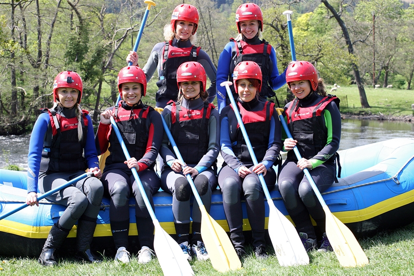 Hen Party Whitewater Rafting